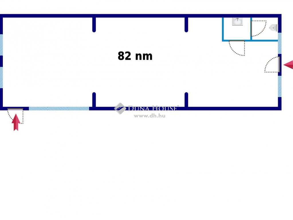 Kiadó Üzlethelyiség, Fejér megye, Székesfehérvár - Palotavárosban közel a Piac térhez