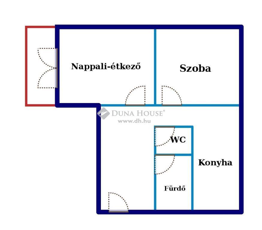 Eladó Lakás, Somogy megye, Siófok - Erkélyes panel lakás