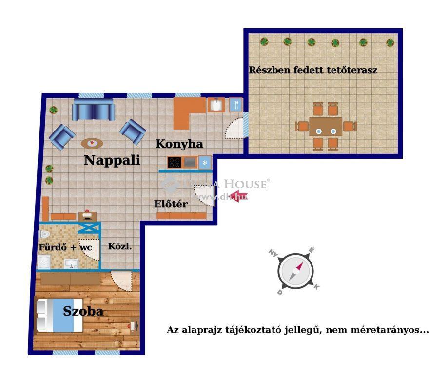 Eladó Lakás, Győr-Moson-Sopron megye, Győr - 52 m2 + 39 m2 terasszal...!!!