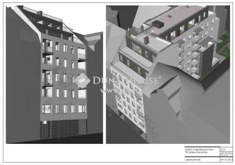 Eladó Telek, Budapest 8. kerület - 8.ker. 32 lakásos társasház építhető rá, építési engdéllyel