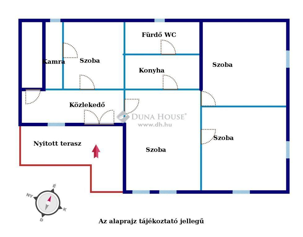 Eladó Ház, Pest megye, Szigetcsép - Szigetcsépi 4 szobás 1100 nm2-es telken